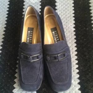 Stuart Weitzman Vintage Suede Heel Shoes Sz 5.5 M